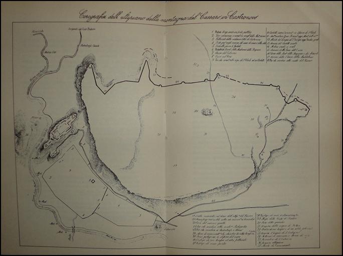 Fig. 2   Planimetria del piano del Kassar - Cavallari 1867